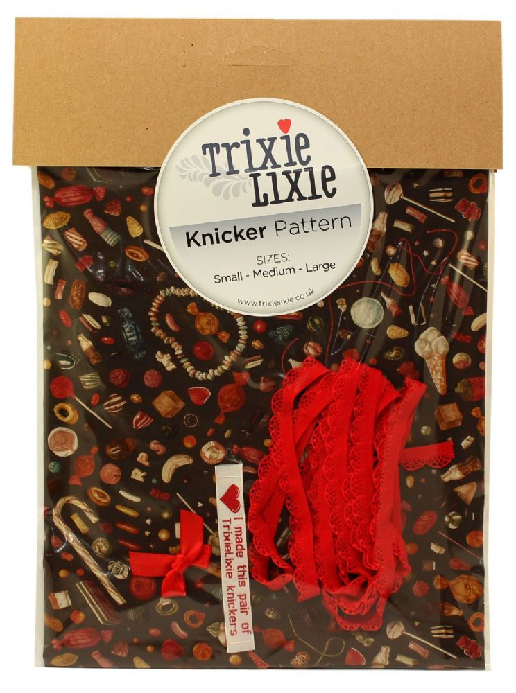 Liberty Fabric - Truly Scrumptious A - Knicker Kit